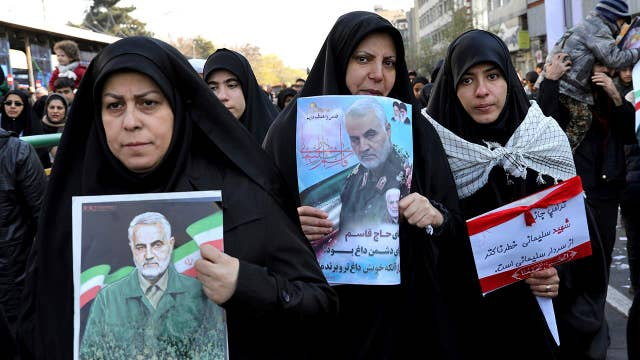 Tensions high in Middle East as demonstrations continue after Soleimani's death