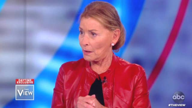 Judge Judy tells 'The View' hosts why she's supporting Michael Bloomberg for president