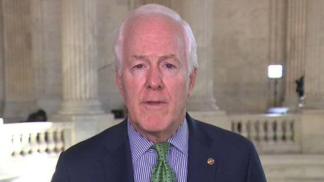 Sen. Cornyn: It's Trump call to declassify war powers notification