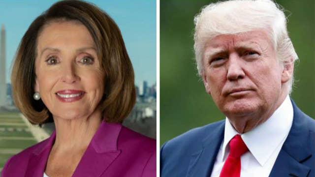 President Trump and Speaker Pelosi battle over presidential war powers