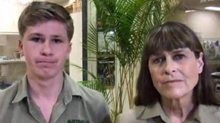 Irwin family working to treat animals injured in Australia wildfires