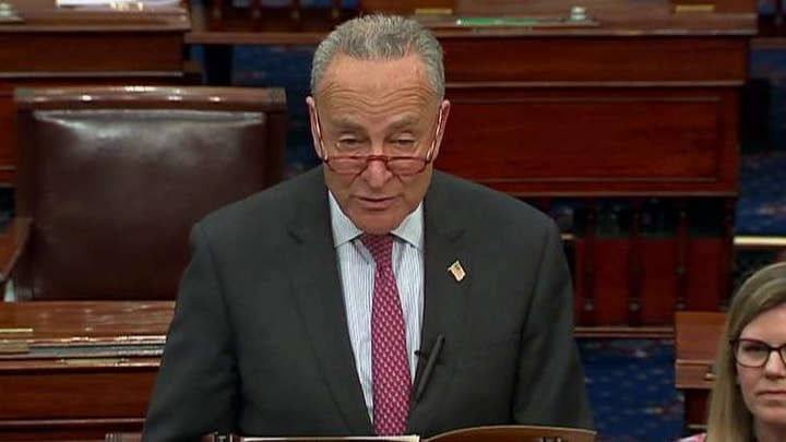 Sen. Chuck Schumer slams President Trump's 'chaotic and rudderless' foreign policy