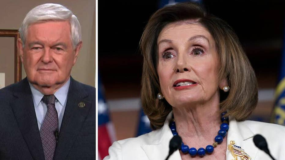 Gingrich: Pelosi's games are devaluing the impeachment process