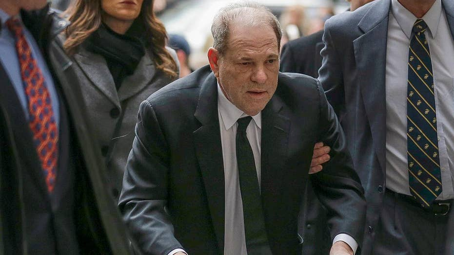 Harvey Weinstein arrives in NYC court ahead of criminal trial