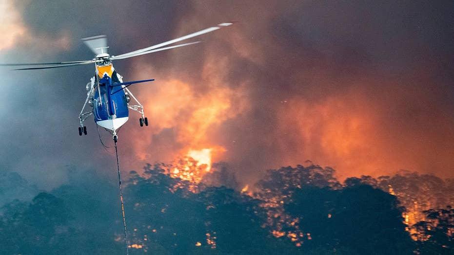 Australian authorities fear smoldering hotspots could ignite additional bushfires