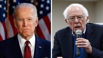 Sanders, Biden battle for lead in new national polls