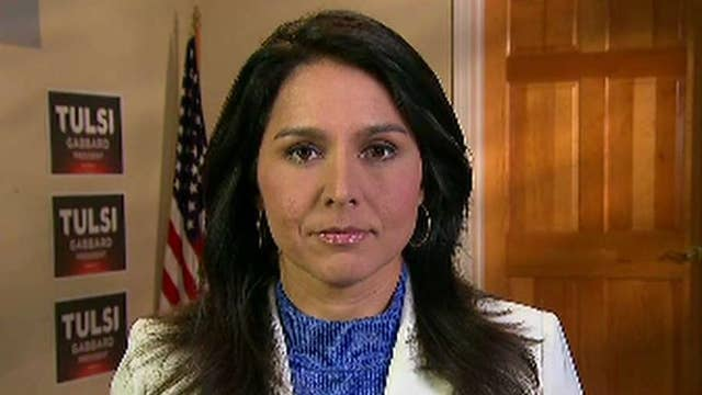Rep. Tulsi Gabbard says all-out conflict with Iran would make wars in Iraq and Afghanistan look like a picnic