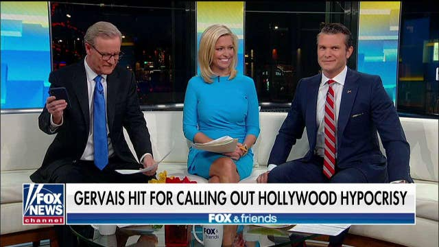'Friends' hits left's criticism of Ricky Gervais: Free thinkers now branded as 'right-wing'