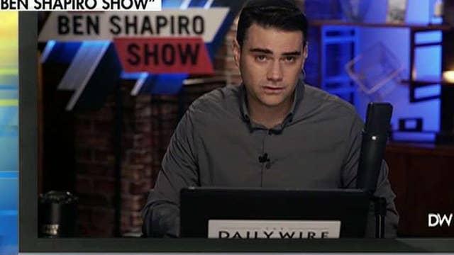 Ben Shapiro blasts mainstream media's Iran coverage