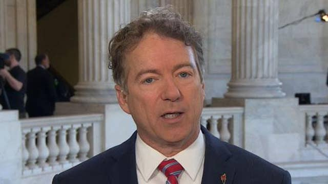 Rand Paul: It's the 'death of diplomacy' with Iran