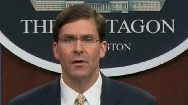 Esper: We are not leaving Iraq