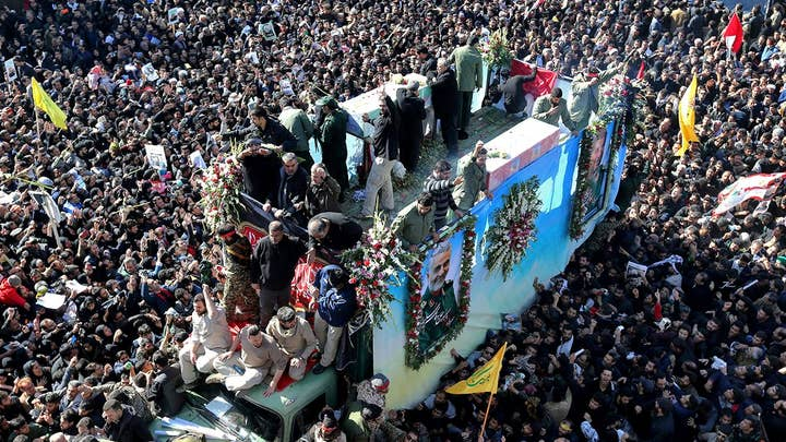 Deadly stampede at Soleimani funeral results in at least 35 killed