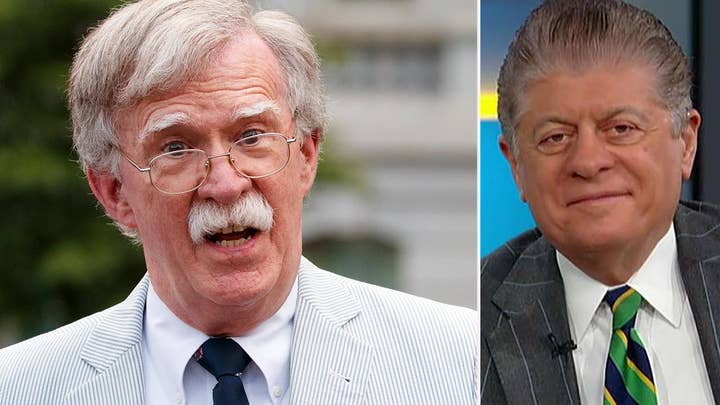 Napolitano: 'Nearly impossible' for Republicans to prevent Bolton from testifying in Senate impeachment trial