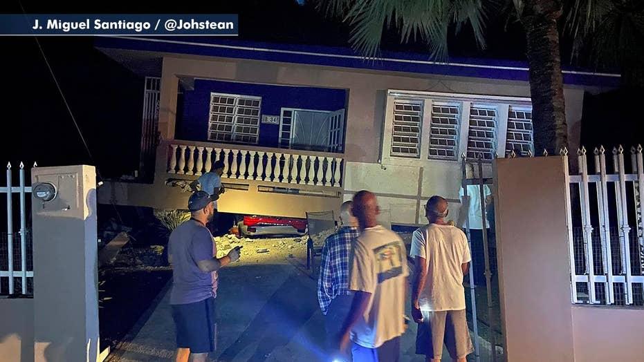 6.4 magnitude earthquake rattles Puerto Rico
