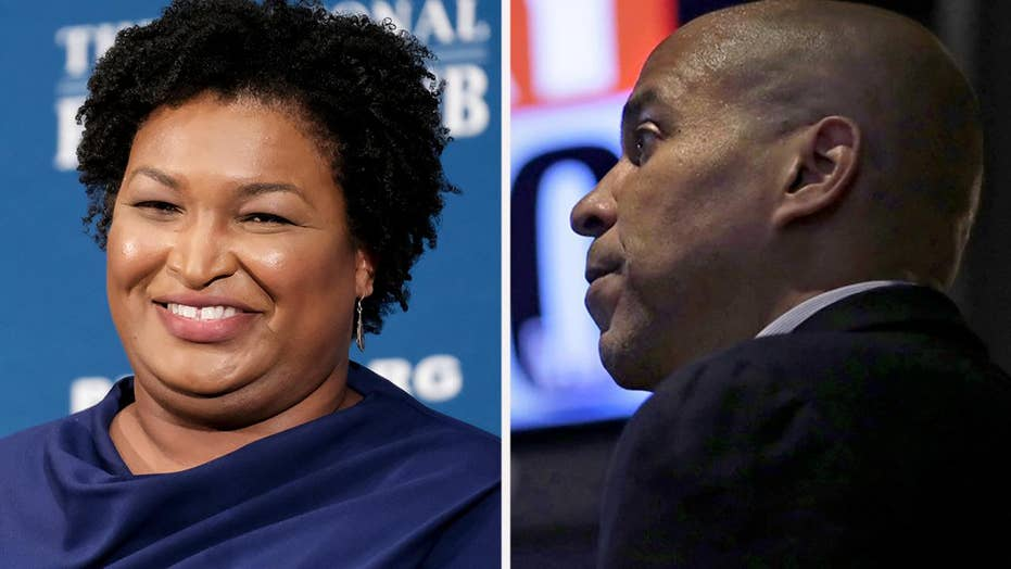 Cory Booker blames 'mass voter suppression' for Abrams defeat in 2018