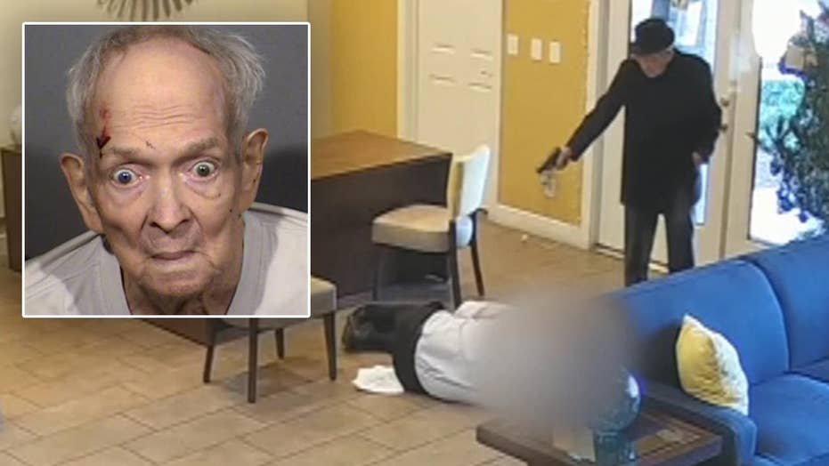 Warning, graphic video: Las Vegas police release footage of 93-year-old shooting suspect