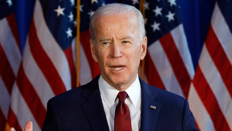 Joe Biden blames tensions with Iran on Trump's withdrawal from nuclear agreement