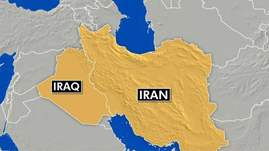 US military source in Iraq reports attack from Iran