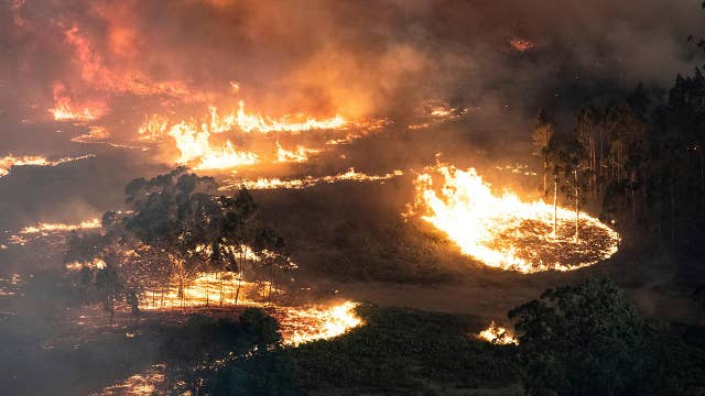Rainfall brings some relief during Australian wildfire assault