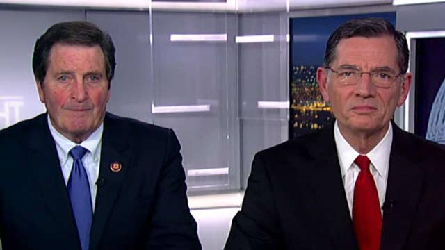 Sen. John Barrasso, Rep. John Garamendi react to Iranian missile attack on US bases in Iraq