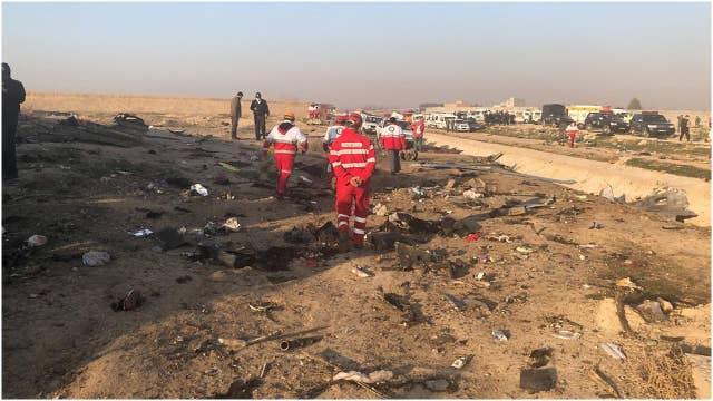 Ukrainian passenger jet crashes near Tehran
