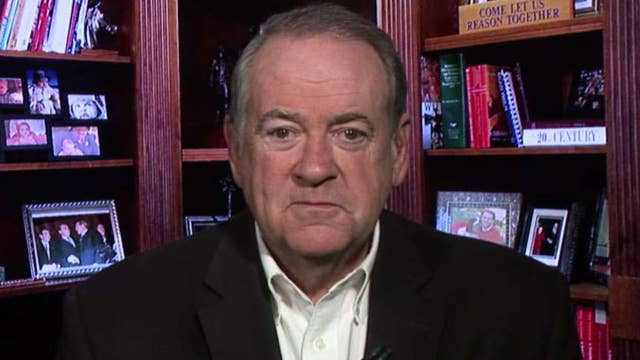 Huckabee: Trump has taken the right approach on Iran but the media won't give him credit