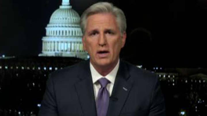 Rep. Kevin McCarthy says President Trump has made Americans safer
