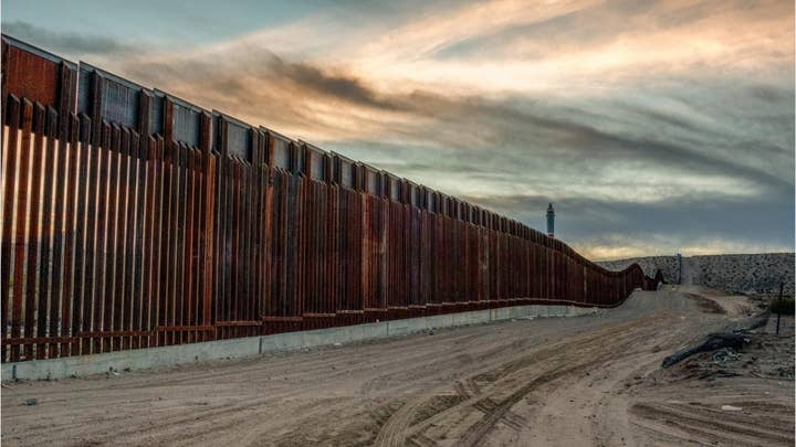 Illegal immigrants get stuck on border wall trying to enter California