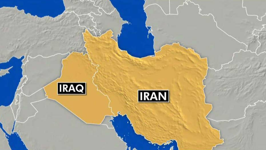 Senior military source says missiles were fired from Iran at US targets in Iraq