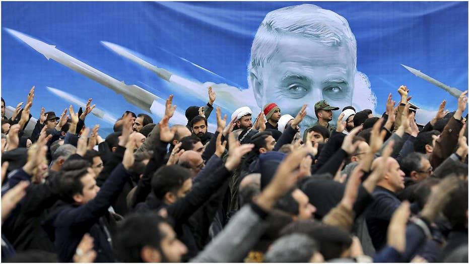 Iran makes good on threat to retaliate for US strike that killed Gen. Soleimani