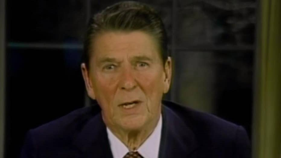 When the Islamic Republic of Iran drove President Ronald Reagan to military action