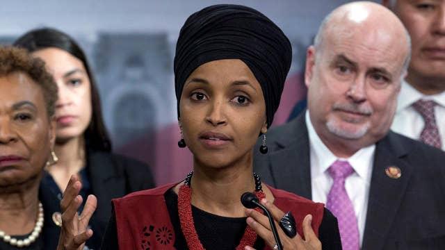 Rep. Ilhan Omar says Iran tensions are triggering her PTSD