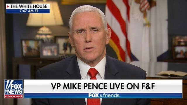 Pence: Impeachment exposes 'sham process' to America