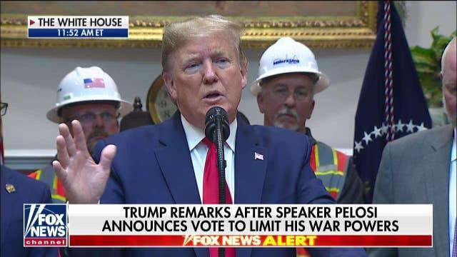 Trump: We immediately increased sanctions on Iran