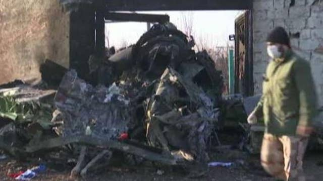 Ukrainian airliner went down about 4 hours after Iran launched missile attack
