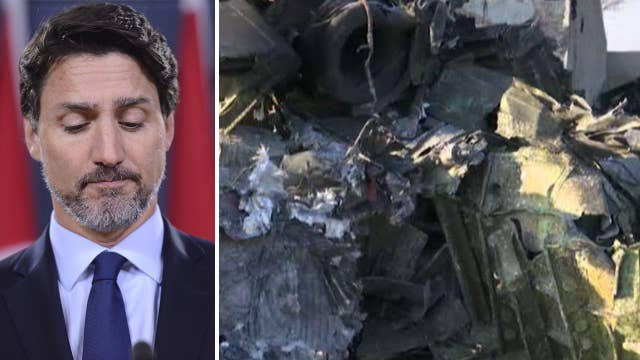 Trudeau: Shooting down of Ukraine jet may have been unintentional