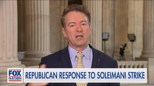 Rand Paul: Most members of Senate 'don't care about the Constitution'