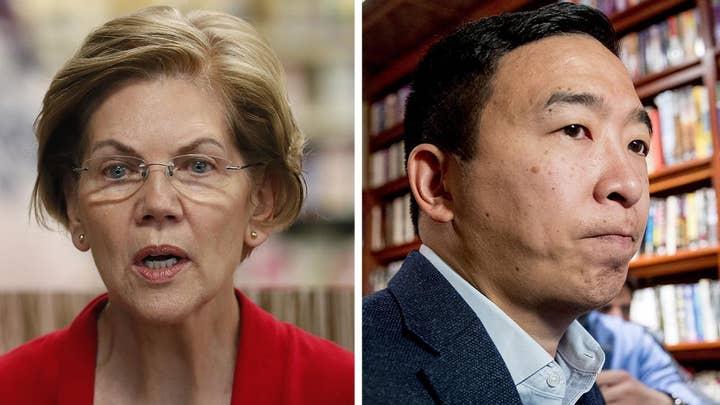 2020 Democrats Warren, Yang differ in response to Soleimani strike