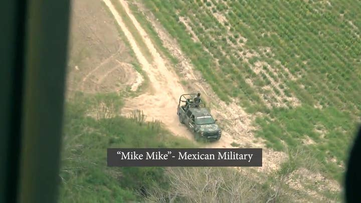 EXCLUSIVE: Mexican military rushes to help Border Patrol stop illegal border crossers