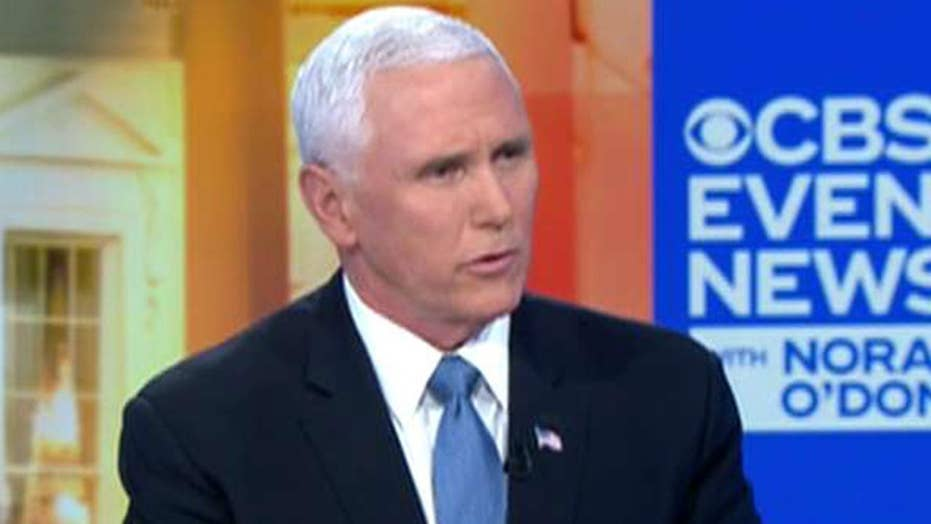 Vice President Pence says Iran told militias not to attack American targets