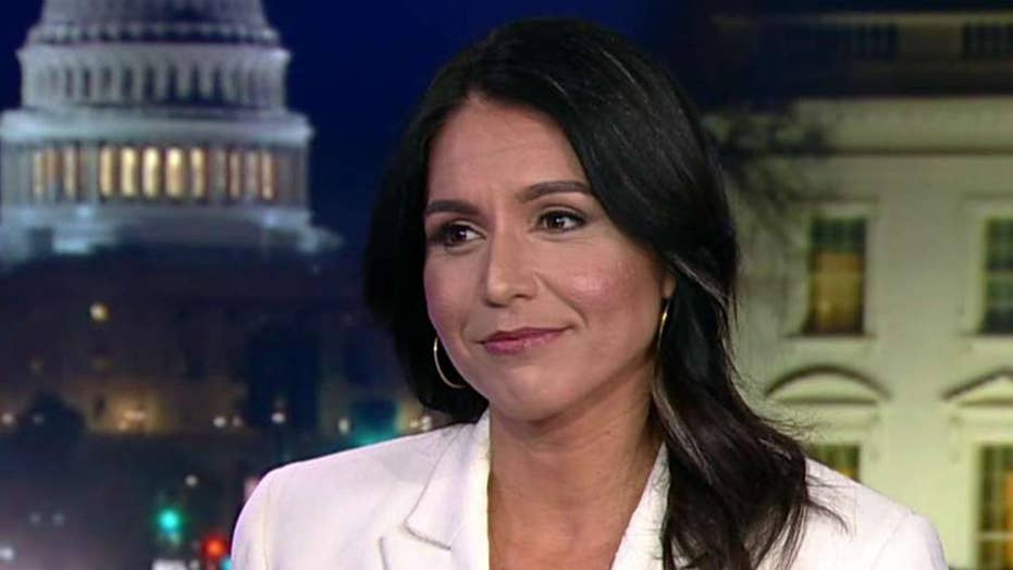 Rep. Tulsi Gabbard says Hillary Clinton is a warmonger, calls for US withdrawal from Iraq and Syria