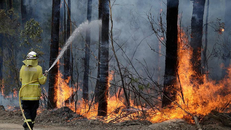 An inside look at the operation to contain Australia's devastating bush fires