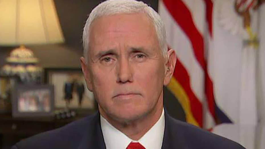 Mike Pence: Iran is standing down but we remain vigilant