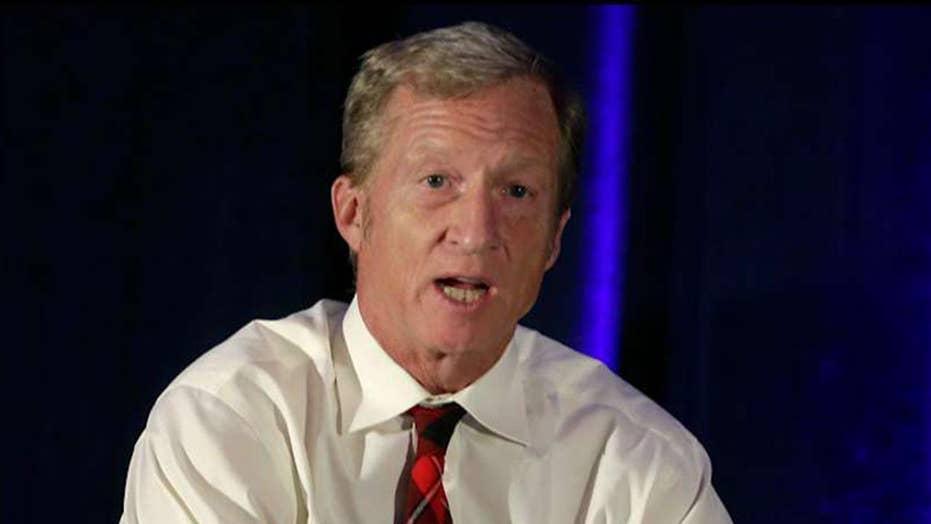 Tom Steyer's surprising surge: Joe Biden still leads polls but billionaire is rising