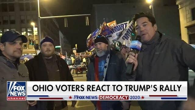 President Trump rallies voters in Ohio