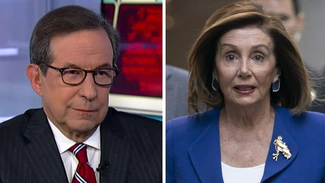 Chris Wallace says Pelosi focused more attention on Senate impeachment trial, but didn't get McConnell to cave