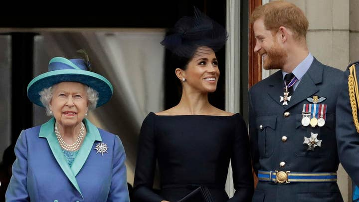 Royal family reportedly seething after Meghan and Harry's shock announcement