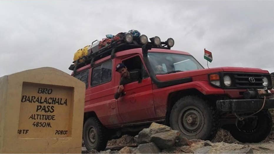 Couple moves 40,000 miles from New Zealand to UK with their Toyota Land Cruiser