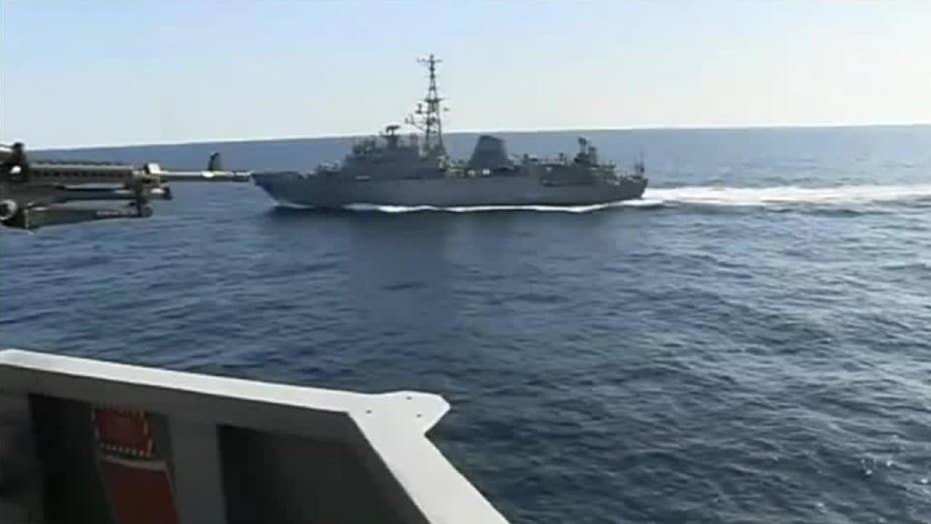 US NAVY: Russian spy ship 'aggressively' risks collision with US warship in North Arabian Sea
