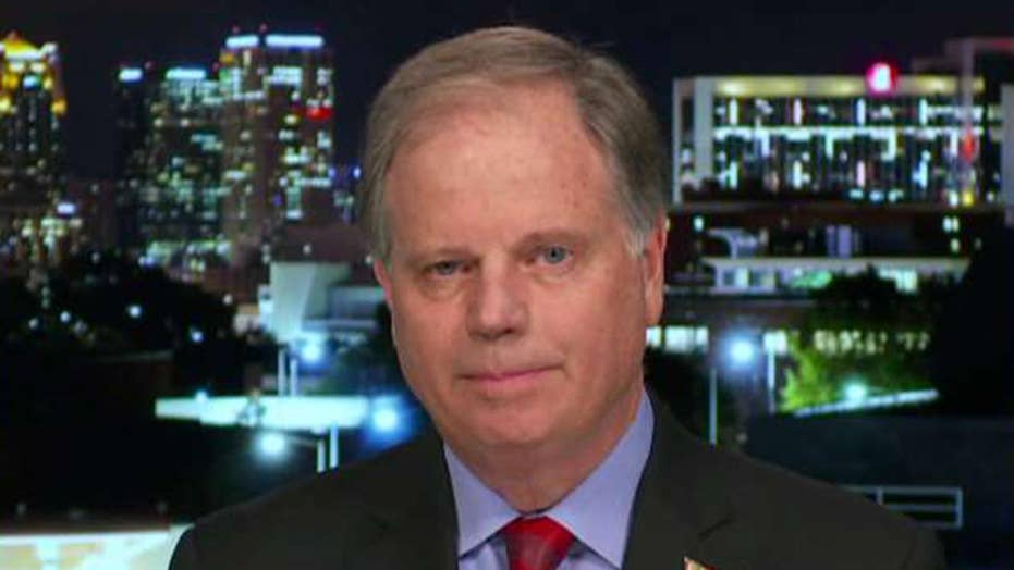 Sen. Doug Jones: Outrage over Nancy Pelosi withholding articles of impeachment is much ado about nothing